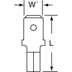 3M MU14-250DMHTX 3m Mu14-250dmhtx High Temperature Male