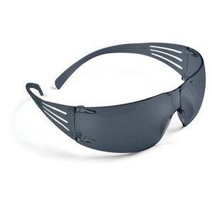 3M SF202AF-EA SecureFit Protective Eyewear, Frameless, Gray