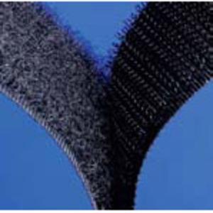 3M SJ-3526N-HOOK-BLACK-1 Hook Fastener, Nylon, Black, High Performance Rubber Adhesive