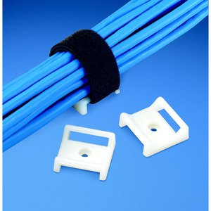 """Panduit ABMT-S6-C Cable Tie Mount, #6 Screw (M3), 1.12""""x1."""