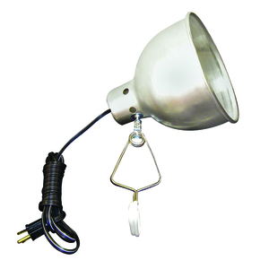 TPI CL300 300w 120v Incandescent Comm Duty Portable Utility Lt, Clip-on