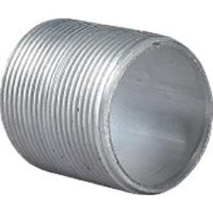 "Hubbell-Killark AN-1 Rigid Nipple, 1/2"" x Close"", Threaded, Aluminum"