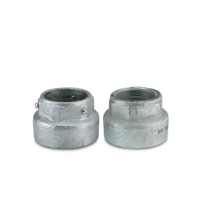 "OZ Gedney PBW-250 3-1/2"" Weatherproof Pull Box Fitting"