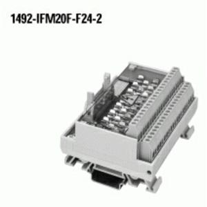 Allen-Bradley 1492-IFM20F-F24-2 Interface Module, Digital, 20 Point, 24V AC/DC, Blown Fuse Ind.