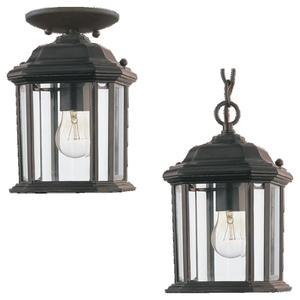 Sea Gull 60029-12 1l Pendant Lantern Black Die
