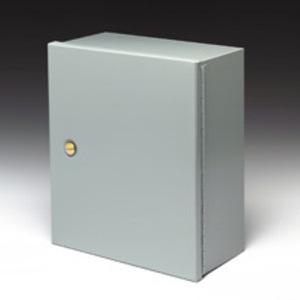 """Cooper B-Line AW2424-1P Panel For Enclosure, 24"""" x 24"""", Type 1, Steel, Medium Enclosures"""