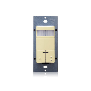 Leviton ODS0D-IDI Dual Circuit Occupancy Sensor, PIR, Ivory