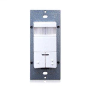Leviton ODS0D-IDW Dual Circuit Occupancy Sensor, PIR, White