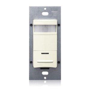 Leviton ODS10-IDT PIR Occupancy Sensor/Switch, Light Almond