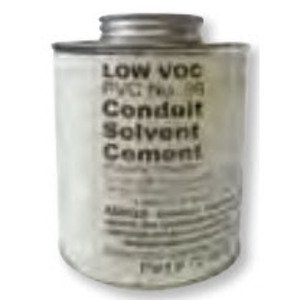 Bizline CEMENTQTGRAY PVC Cement, Gray, Size: 1 Quart