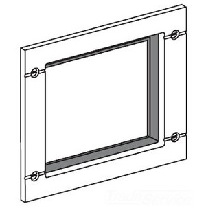 Square D S33929 Breaker, Molded Case, Door Escutcheon, Accessory Cover, R Frame