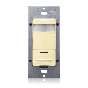 Leviton ODS15-IDI PIR Occupancy Sensor/Switch, Ivory