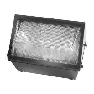 Hubbell-Outdoor Lighting WGH-250P Wallpack, PS Metal Halide, 250W, 120-277V, Dark Bronze