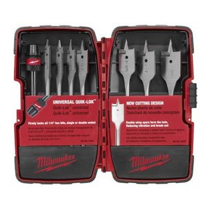 Milwaukee 49-22-0175 8-Piece Spade Bit Kit