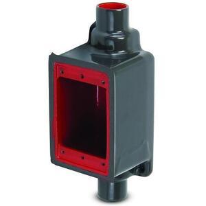 "Plasti-Bond PRFDC2 FD Device Box, FDC Type, 1-Gang, 3/4"", PVC Coated Steel"