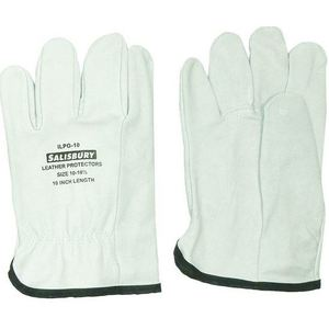 "Salisbury ILPG10/10 Leather Protector Glove, Length: 10"", Size:10"