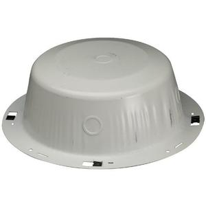 "Bogen RE84 Round Enclosure, Diameter: 12-1/4"", Depth: 4-1/2"" , Metallic"