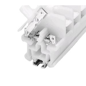 Allen-Bradley 1492-CE9 Terminal Block, Isolating, White, 10A, 600V AC/DC, 20mm