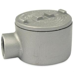 "Appleton GRE75 Conduit Outlet Box, Type GRE, (1) 3/4"" Hubs, Malleable"