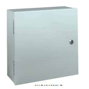"Hubbell-Wiegmann N1C243006LP Enclosure, NEMA 1, Hinge Cover, 30"" x 24"" x 6"", Steel"