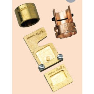Mersen R166 Fuse Reducer, Rejection, Class R, 100A to 60A, 600VAC