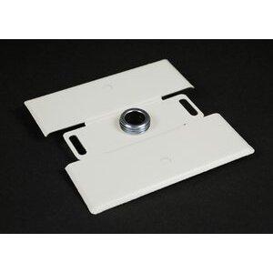 Wiremold BK2051H Stl Flush Plate Adapter 2000 Black