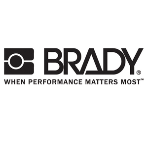 Brady B30EP-176-593-WT B30 Series Raised Panel Polyester Labels