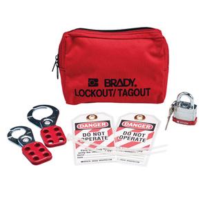 Brady 99292 PERSONAL PADLOCK POUCH W/