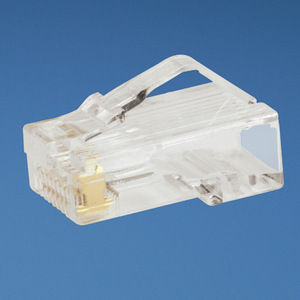 Panduit MP588-C Snap-In Connector, Cat 5e, Modular, UTP, Clear