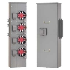 Square D EZM11200GCBU Meter Pak, Main Breaker Enclosure, 1200A, 120/240VAC, 1PH, UG Only