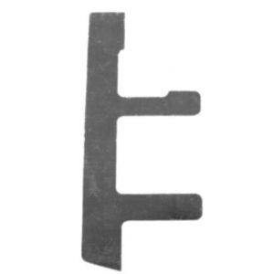 """Appleton 896 Switch Box Support, Type: Old Work, Wall 1/4 to 1-1/4"""", Metallic, Sold per Piece"""