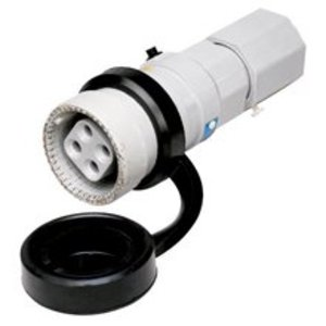 Cooper Crouse-Hinds NPJ3484 Pin & Sleeve Plug, Weatherproof, Aluminum, 30A, 3-Wire, 4-Pole