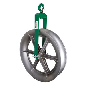 "Greenlee 653 Sheave-cable 24"" Hook Type (653)"