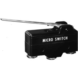 Micro Switch BA-2RV241-A2 Switch, Premium, Lever, SPDT, 20A @ 250VAC, Screw Terminals