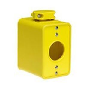 Woodhead 3003 Portable Outlet Box, (2) 20/30A Single Locking Receptacles, Type: Wet Location
