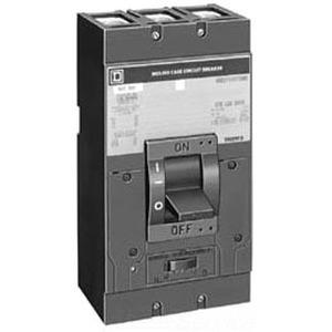 Square D LAF364001039 Breaker, Molded Case, 400A, 3P, 600VAC, 12VDC Shunt Trip, No Lugs