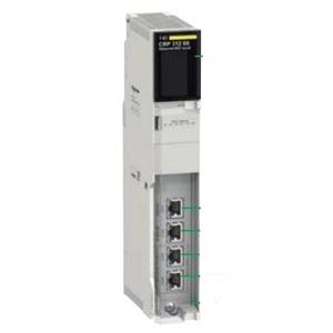 Square D 140CRP31200 Ethernet Module, Modicon Quantum, CRP Ethernet Head Adaptor, RJ45