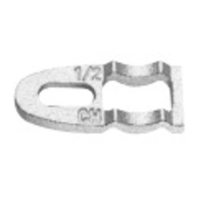 """Cooper Crouse-Hinds CB1HDG Clampback/Spacers, 1/2"""" Malleable"""