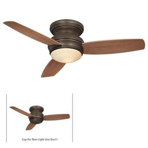 Minka Lighting F593-ORB 44IN HUGGER FAN-ORB