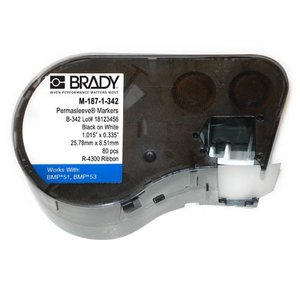 Brady M-187-1-342 Label Maker Cartridge