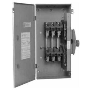 Eaton DT367NRK Safety Switch, 800A, 3P, 600VAC/250VDC, HD, Double Throw, NEMA 3R