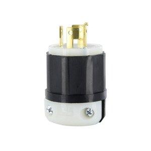 Leviton 7411-C Locking Plug, Non-NEMA, 20A, 120/208V, 4P4W