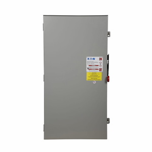 Eaton DH165NRK Safety Switch, 400A, 1P, 600VDC, HD, Fusible, NEMA 3R