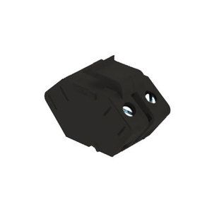 ON-Q WP3456-BK Sgl Speaker Outlet Insert Bk (m20)
