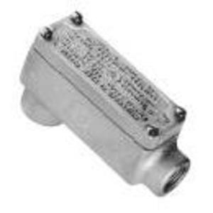 """Cooper Crouse-Hinds OELB2 Explosionproof Conduit Body, Type: LB, 3/4"""", Malleable Iron"""