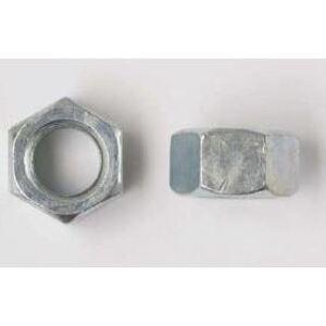 """Bizline 1420HNSS Hex Nut, 1/4"""", Stainless Steel, 100/PK"""