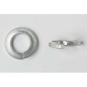 Bizline 10LWSS Split Lock Washer, # 10, Stainless Steel, 100/PK