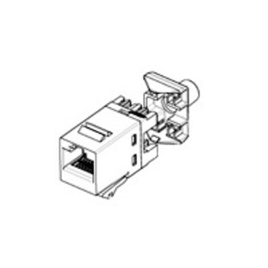 Tyco Electronics 1375191-2 Snap-In Jack, RJ45, CAT5e, SL110, Black