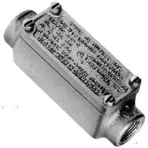 "Cooper Crouse-Hinds OEC1 1/2"" Explosionproof Conduit Body, Iron"