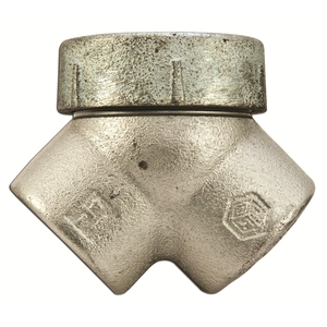 "Cooper Crouse-Hinds LBY45 1-1/4"", 90° Capped Pulling Elbow"